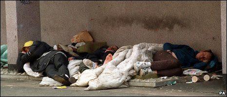 Britan Homeless