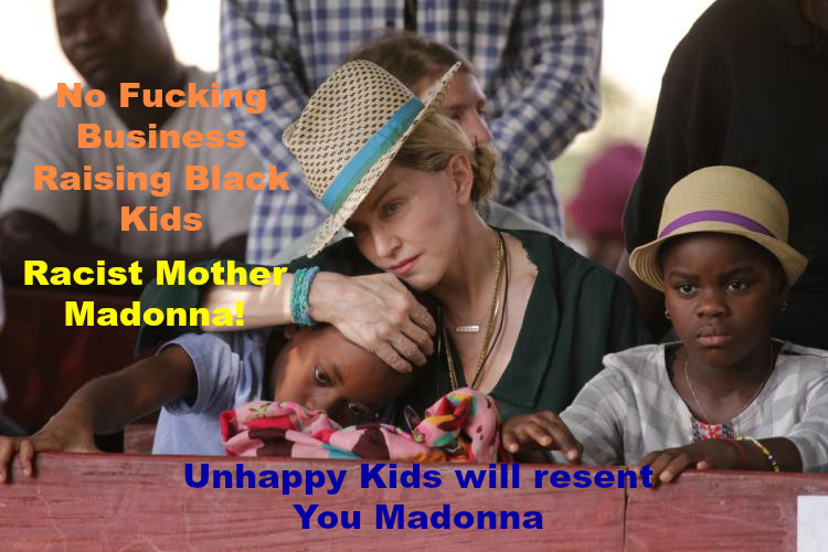 racist madonna and mother