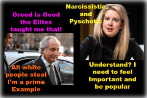 elizabeth holmes greedy lying bitch