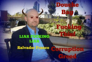 salvador franco busted for fraud