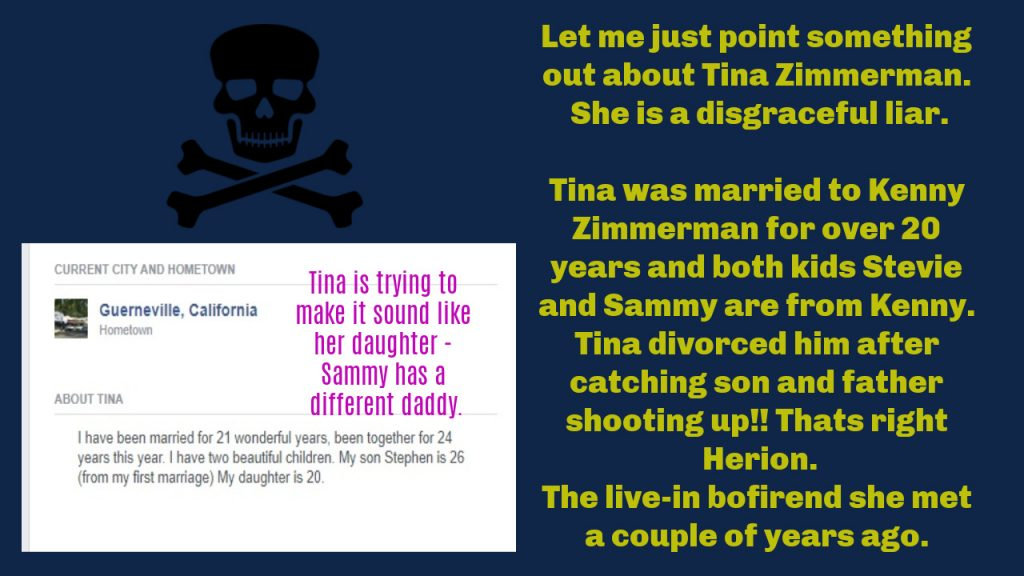 TINA IS A LIAR