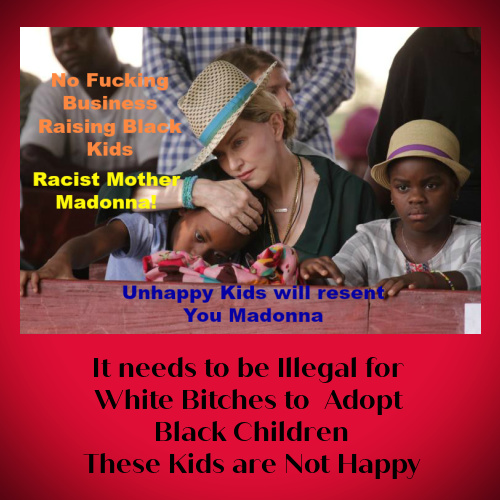 MaDonna is a Racist