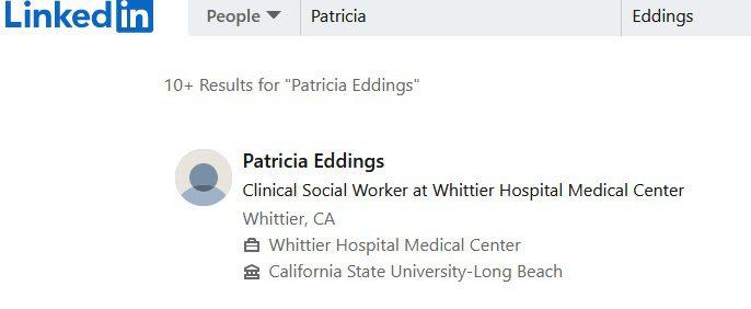PAT EDDINGS IS NO SOCIAL WORKER